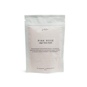 Увлажняющая альгинатная маска PINK ROSE, SmoRodina