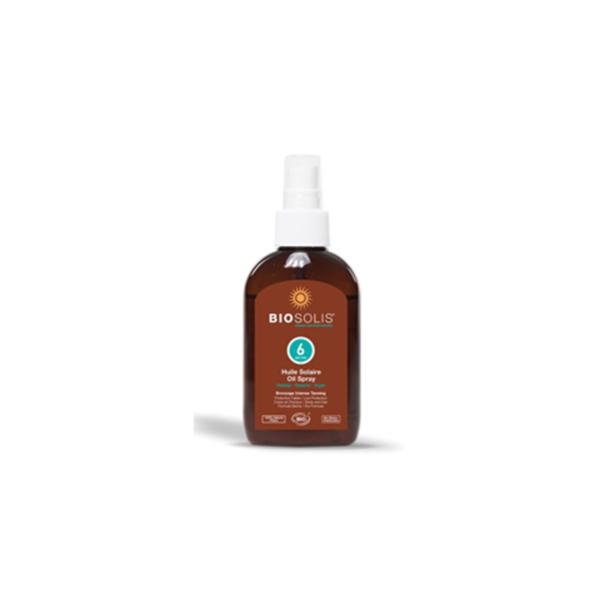 Солнцезащитное масло для лица и тела SPF 6 BIOSOLIS