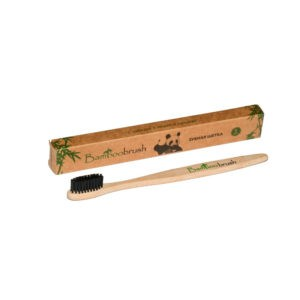 Зубная щетка из бамбука (средняя жесткость), Bamboobrush