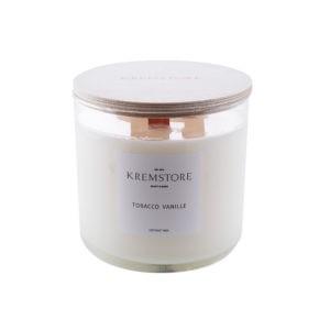 Натуральные свечи tobacco Kremstore