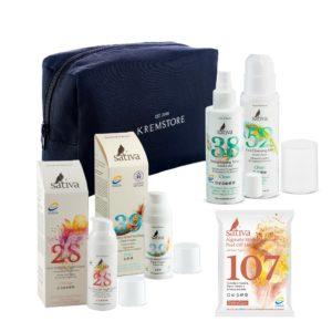 Набор Sativa AntiAge для чувствительной кожи