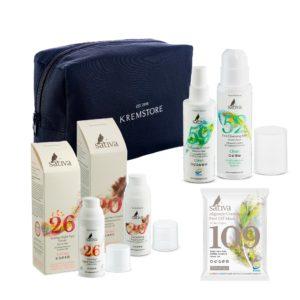 Набор Sativa AntiAge для нормальной кожи