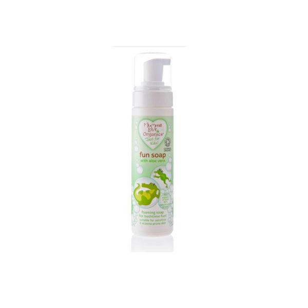Пенящееся мыло для купания Mumma Love Organics